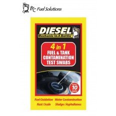 4-in-1 Diesel Test Swabs 10pk